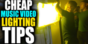 Cheap Music Video Colored Lighting Tips