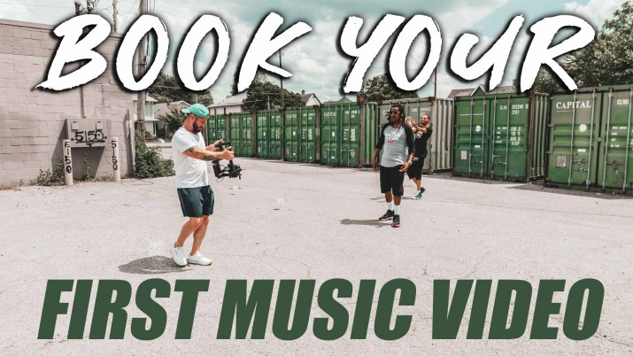 Book Your First Music Video
